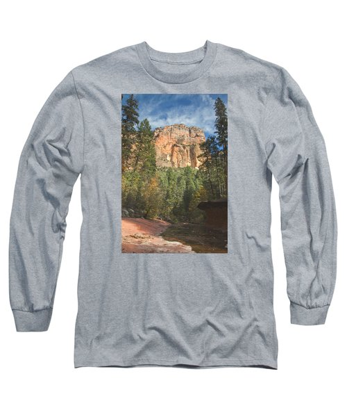 Long Sleeve T-Shirt featuring the photograph Westfork Trail by Tom Kelly