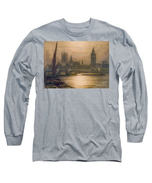 Westminster London 1920 Long Sleeve T-Shirt by Padre Art