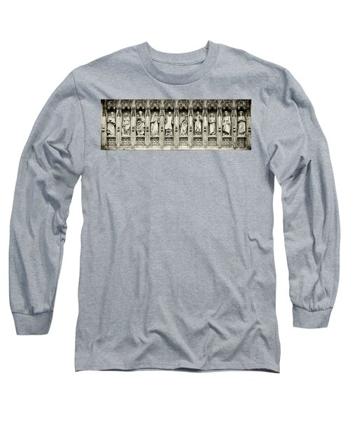 Long Sleeve T-Shirt featuring the photograph Westminster Martyrs Memorial - 1 by Stephen Stookey