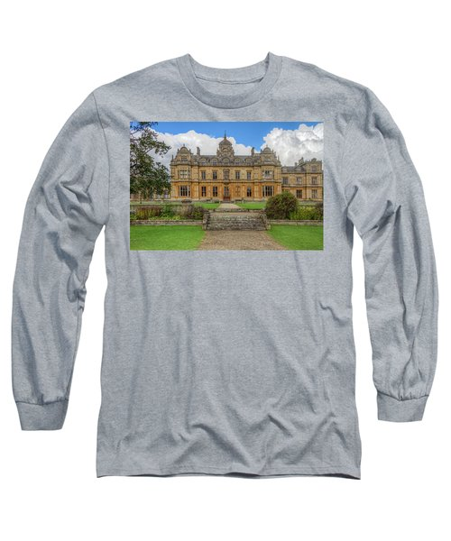 Long Sleeve T-Shirt featuring the photograph Westonbirt School For Girls by Clare Bambers