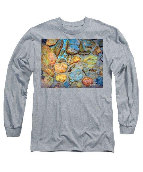 Wet Stones Long Sleeve T-Shirt