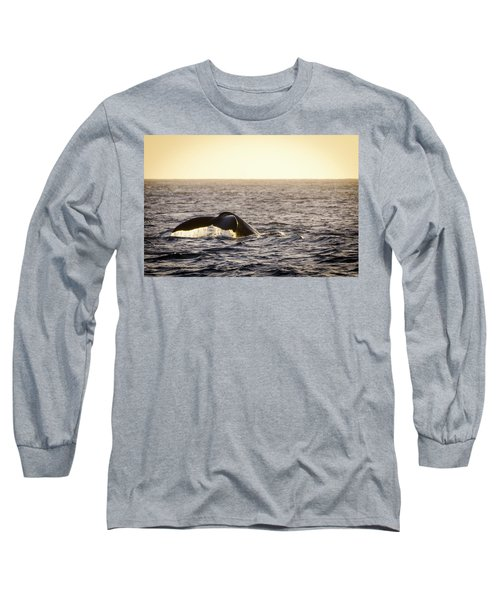 Whale Fluke Long Sleeve T-Shirt