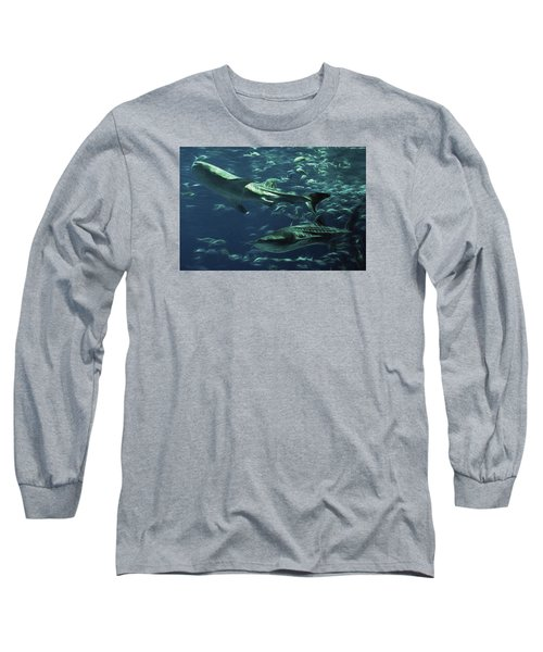 Whale Shark Couple Long Sleeve T-Shirt