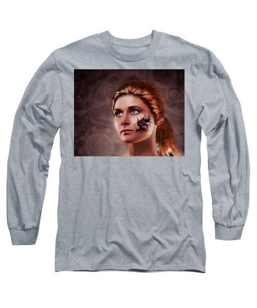 What Lies Long Sleeve T-Shirt by Scott Meyer