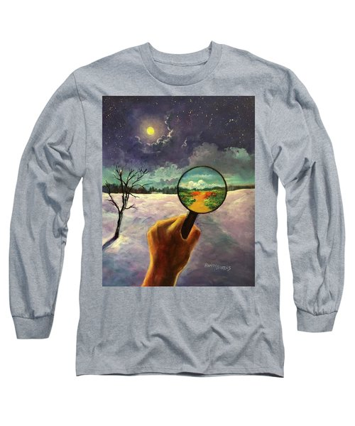 What We Choose To See Long Sleeve T-Shirt