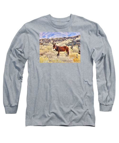 Whatcha Doing Long Sleeve T-Shirt by Marilyn Diaz
