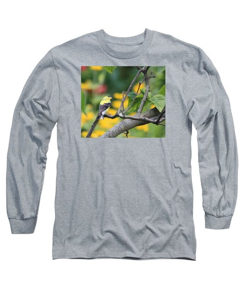 What's Up Long Sleeve T-Shirt by Debra     Vatalaro