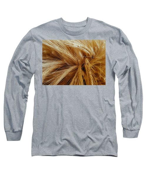 Wheat In The Sunset Long Sleeve T-Shirt