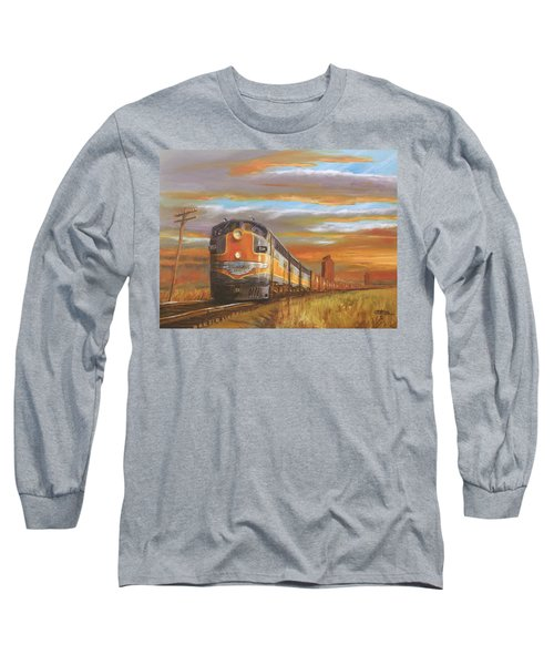 Wheat....from North Dakota Long Sleeve T-Shirt