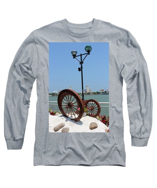 Wheels By The Water Long Sleeve T-Shirt