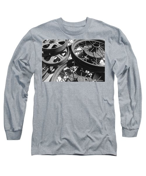 Wheels Of Time Long Sleeve T-Shirt by Tim Good