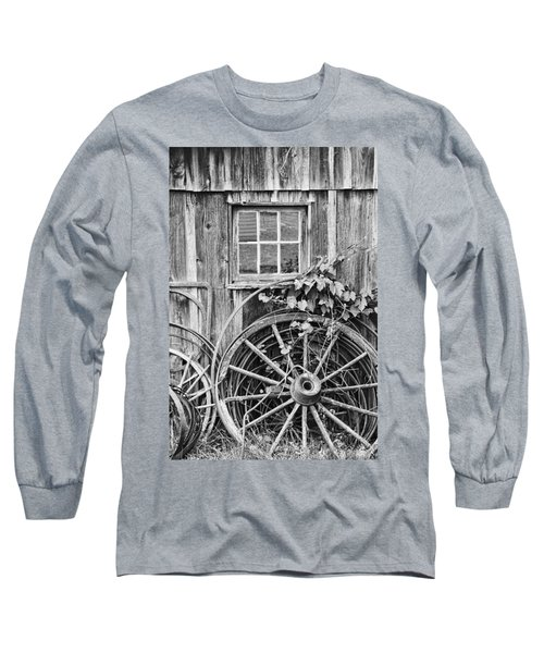 Wheels Wheels And More Wheels Long Sleeve T-Shirt