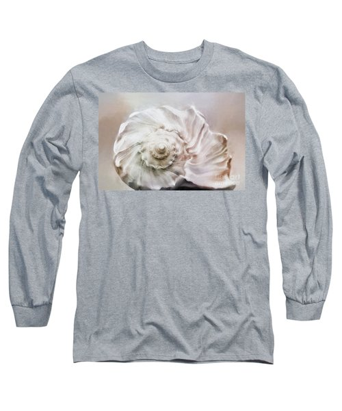 Long Sleeve T-Shirt featuring the photograph Whelk Shell by Benanne Stiens