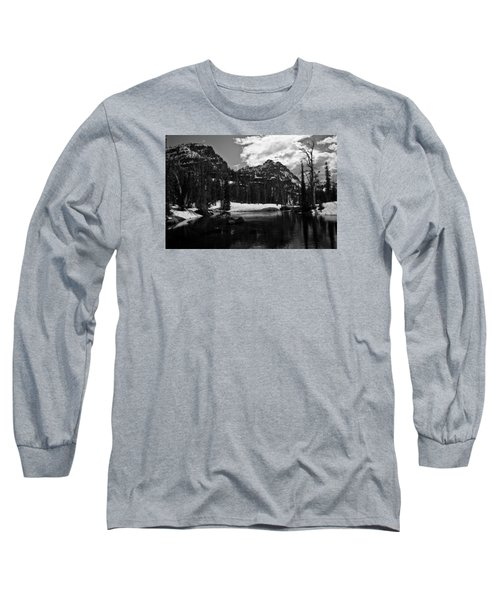 Whelp Lake, Mission Mountains Long Sleeve T-Shirt