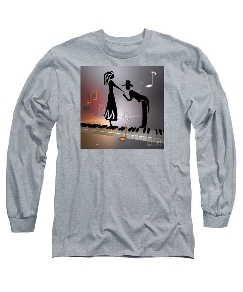 When The Music ... Long Sleeve T-Shirt