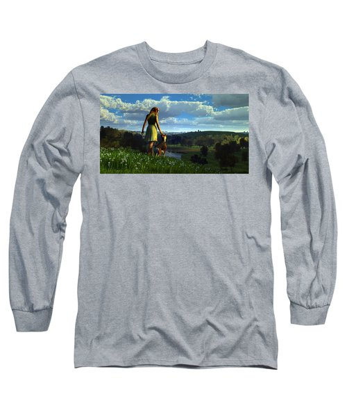 When The Sparrows Sing Long Sleeve T-Shirt
