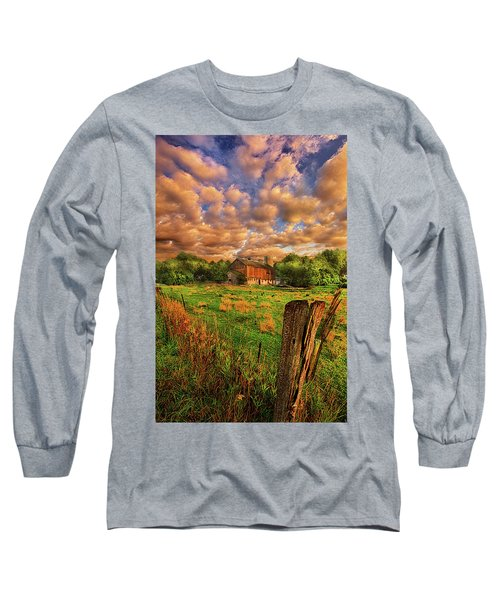 Long Sleeve T-Shirt featuring the photograph When There's No One Around by Phil Koch