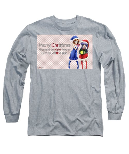 When They Cry Long Sleeve T-Shirt