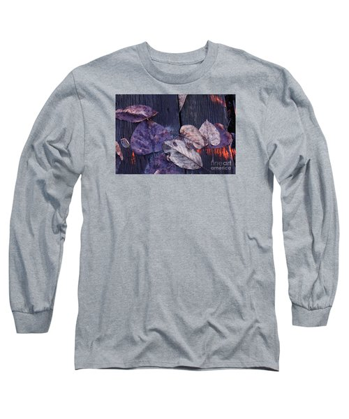 Long Sleeve T-Shirt featuring the photograph Where Do You Go When You Fall by Brian Boyle