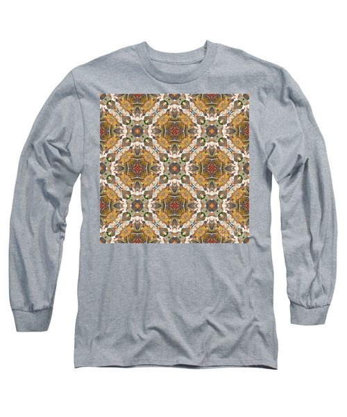 Long Sleeve T-Shirt featuring the digital art Where In The World by Wendy Wilton