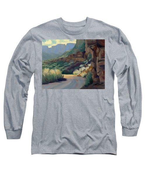 Where The Road Bends Long Sleeve T-Shirt
