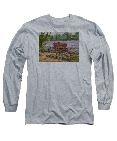 Where's The Seed? Long Sleeve T-Shirt by Jane Thorpe