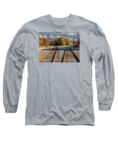 Long Sleeve T-Shirt featuring the photograph Which Way by Constantine Gregory