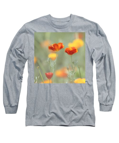 Whimsical Summer Long Sleeve T-Shirt
