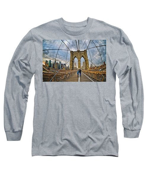 Whirled Wide Web Long Sleeve T-Shirt