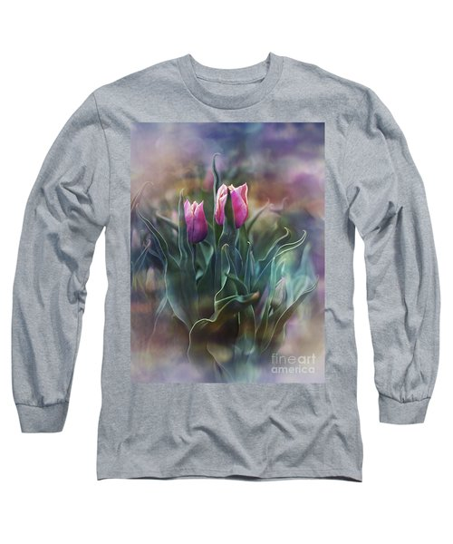 Whisper Of Spring Long Sleeve T-Shirt by Agnieszka Mlicka