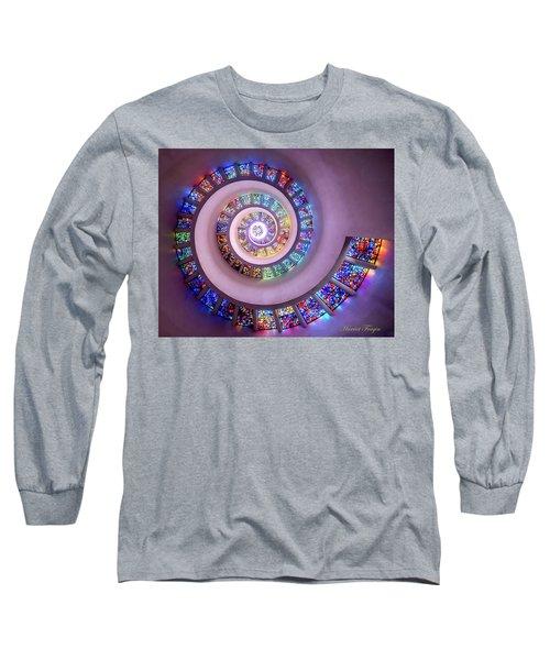 Whispered Prayers Ascending  Long Sleeve T-Shirt