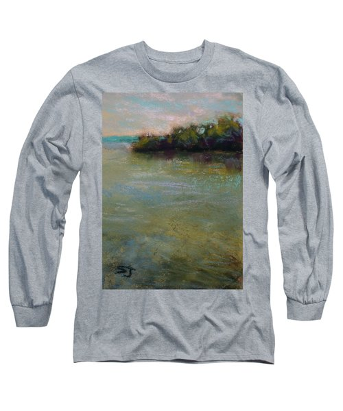 Whispers Of Green Long Sleeve T-Shirt