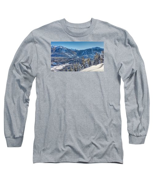 Whistler Blackcomb Winter Wonderland Long Sleeve T-Shirt