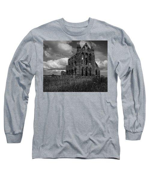 Whitby Abbey, North York Moors Long Sleeve T-Shirt