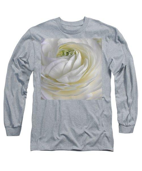 White As Snow Long Sleeve T-Shirt