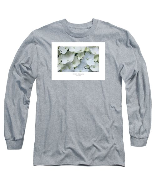 White Blossom Long Sleeve T-Shirt