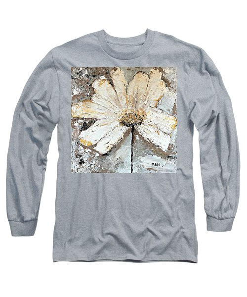 White Daisy Long Sleeve T-Shirt