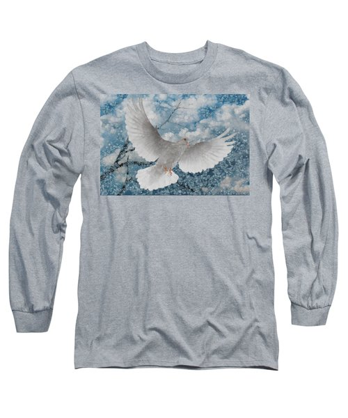 White Dove-flight Series Long Sleeve T-Shirt