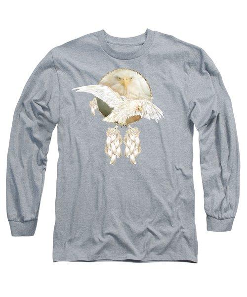 White Eagle Dreams Long Sleeve T-Shirt