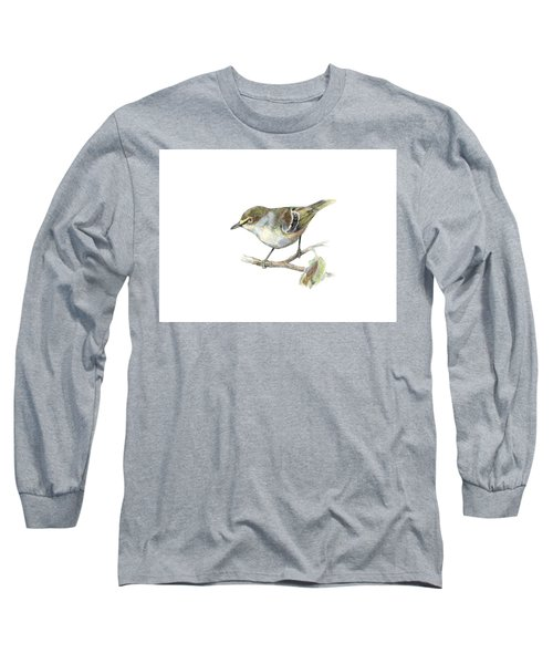 White-eyed Vireo Long Sleeve T-Shirt