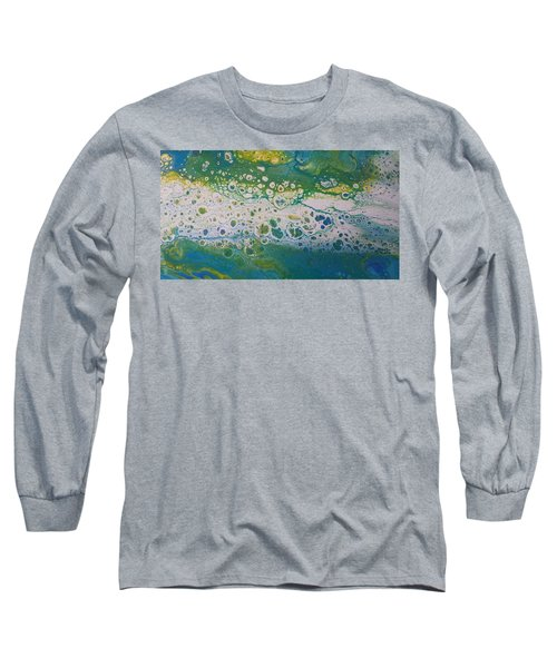 White Flow Long Sleeve T-Shirt