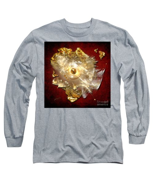 Long Sleeve T-Shirt featuring the painting White Gold by Alexa Szlavics