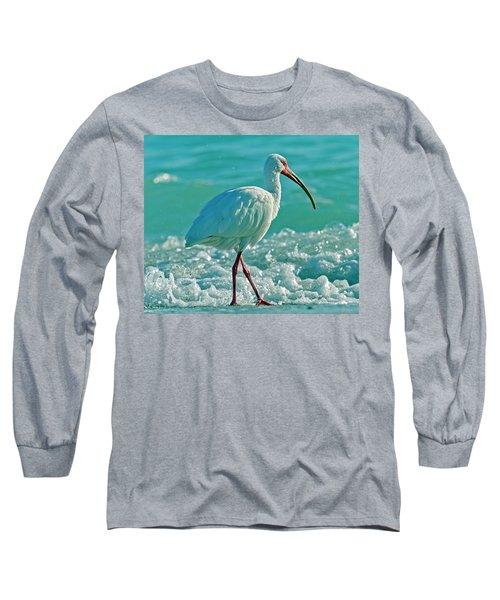 White Ibis Paradise Long Sleeve T-Shirt
