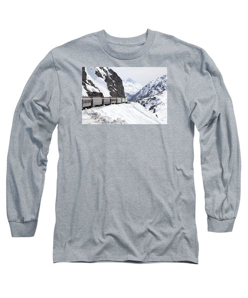 White Journey Long Sleeve T-Shirt