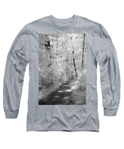 White Path Long Sleeve T-Shirt