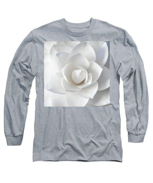 White Petals Long Sleeve T-Shirt