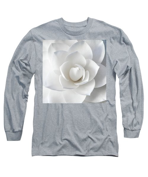 White Petals Long Sleeve T-Shirt