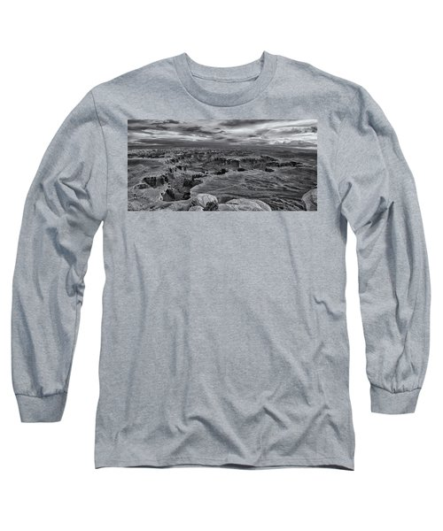 White Rim Overlook Monochrome Long Sleeve T-Shirt