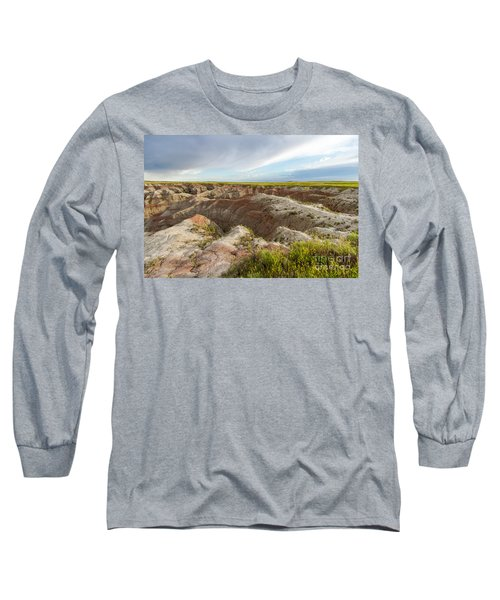 White River Valley Badlands Long Sleeve T-Shirt