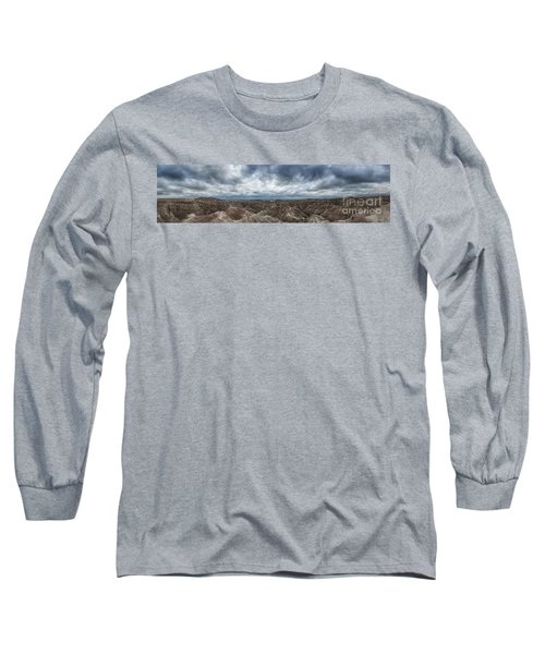 White River Valley Overlook Panorama 2  Long Sleeve T-Shirt